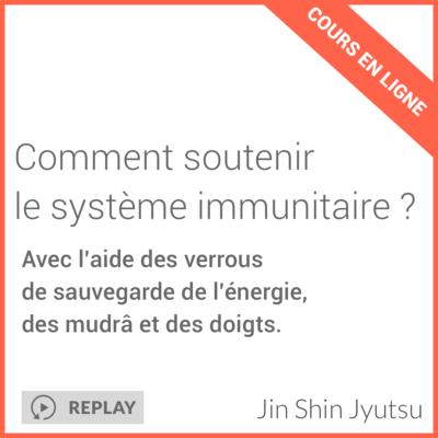 comment soutenir le système imunitaire ? cours en ligne