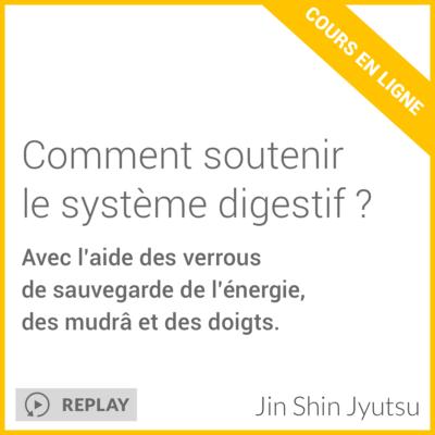 Cours en ligne - comment soutenir le système digestif ?